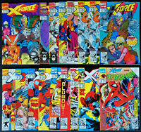 Lot of 17 X-Force #1-15 (Issue #6 2x) + Spider-Man #16 All High Grade