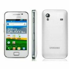 Samsung Galaxy Ace GT-S5830 - Ceramic White flower  (Unlocked) Smartphone