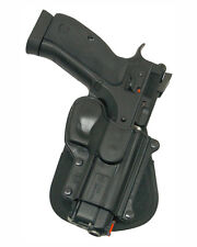 fobus - 75D - Fits CZ75/75BD/85 Cadet 22 & 75D Compact with rails PADDLE holster