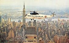 New York City~Need A Cab in the Big City? Call For A Helicopter Instead! 1950s