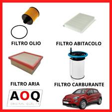 KIT TAGLIANDO FIAT 500X 1.6 2.0 MULTIJET (DIESEL) JEEP RENEGADE 1.6 2.0 4 FILTRI