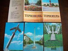Vintage Real Photo Postcards Ternopol Ukraine VERY RARE