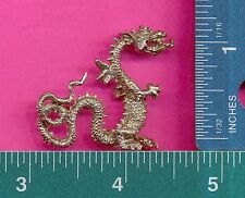 6 wholesale lead free pewter dragon figurines D4005