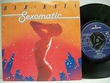 """7"""" VINYL SINGLE. Sexomatic by Bar - Kays. 1984. Mercury. 880 255-7."""