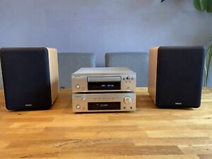 DENON D-F102 Mini-Komponenten-System Stereoanlage CD
