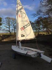 Laser Radial 195302 Sailing Dinghy
