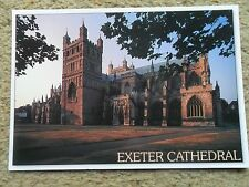 ATMOSPHERE POSTCARD.EXETER CATHEDRAL,DEVON.. PHOTOGRAPHED  BY BOB CROXFORD 199i