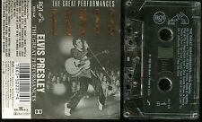 Elvis Presley The Great Performances USA Cassette CLEAR Tape