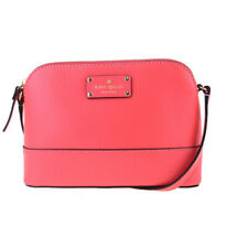 Auth Kate Spade WKRU2895 Leather Shoulder Bag Pink 09GA379