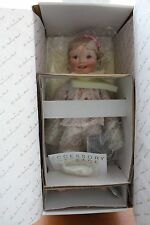 "Shirley Temple ""Sweet Dreams"" Doll Danbury Mint. Mib with Coa"