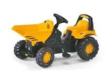 New Rolly Toys Medium Size JCB Pedal Dumper,  Kids Ride-on Dumper Truck Age 2+