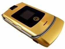 Motorola Razr V3 2G Unlocked Phone with Camera Gold