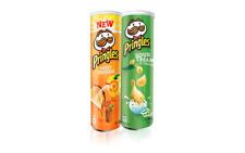 Pringles original, paprika, sour cream - onion. Net weight: 130g.