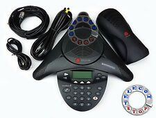 Polycom Soundstation 2 Conference Phone Telephone - Inc VAT & Warranty - Grade A