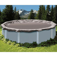 18' SWIMLINE SUPER DELUXE ROUND ABOVE GROUND WINTER POOL COVER ***15 YR WARRANTY
