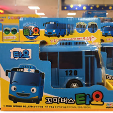The Little Bus TAYO Diecast Toy Car little bus Tayo Model Blue Bus
