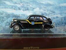 1/43  Rextoys (Portugal) Chrysler airflow Police 1935