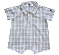 Oshkosh B'gosh Woven Plaid Romper #930 Infant/Baby Boy Clothes, Size: 24 months
