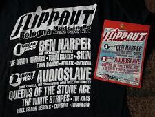 FLIPPAUT t-shirt  size M  2003 Harper QOTSA The White Stripes AUDIOSLAVE SKIN