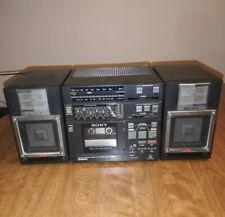 Vintage Sony CFS-9000 3 Piece Boombox  Auto-Reverse Cassette, APM Speakers READ