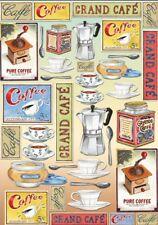 Papier de découpage Cuisine Café DFG316 Collage Decopatch