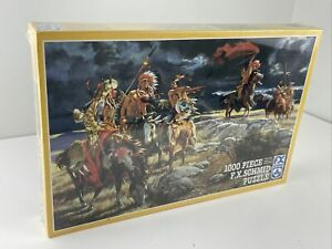 Brand New Puzzle Indian Germany 1000 pc F.X. Schmid 98107.8 Indianer Red Indian