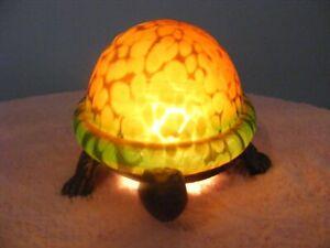 Bridgeport Handcrafted Turtle Lamp/Night Light