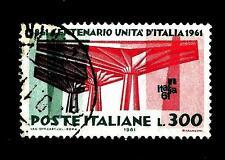 ITALIA REP. - 1961 - Centenario dell'Unità d'Italia - 300 lite Michel 1112