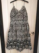 "Women's 'Elliatt' ""Paradise Black & White  Dress"" size XL. RRP $219.95"