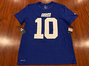 Nike Men's Eli Manning New York Giants Football Jersey Shirt Large L DriFit
