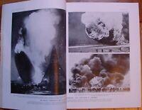 L'ILLUSTRATION 4915 DU 15/5/1937 CATASTROPHE DU HINDENBURG THEATRE ARABE MOSCOU