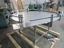 "Dependable Equipments Accumulation Turntable 48"" Diameter-Feeding Table"