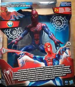 """Hasbro Motorized Web-Shooting 14"""" Spiderman Action Figure Toy Unopened in box"""