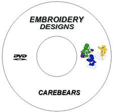Nouveau Broderie Machine Designs PES CD DVD carebears frère signataire Janome