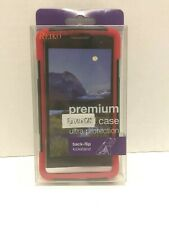 Reiko Premium Hybrid Case with Back-flip Kickstand for LG Leon C40