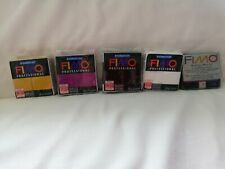 Fimo professional Modelling Clay X 5 New Packs 85g / 65g