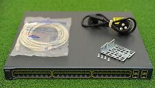 CISCO WS-C3560-48PS-E Catalyst 3560 48 Ports Ethernet Switch - 1YrWtyTxInv