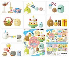 Re-Ment San-X Sumikko Gurashi Miniature Party Complete Set of 8 Pieces-US Seller