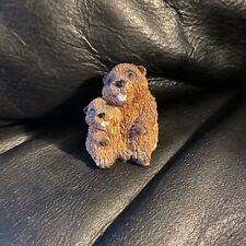 Mother And Baby Beaver Figurine. Adorable!