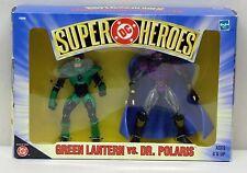 DC Superheroes Two Figure Set Green Lantern Dr Polaris Hasbro NIP 1999 S165-10