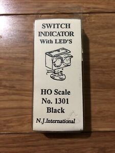 NJ International Switch Indicator with LEDs #1301 HO Scale