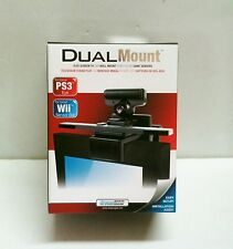 NEW Dual Mount TV Wall Mount for PS3 PlayStation Move Eye, Wii