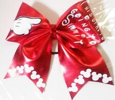 This Girl is going to Summit (or World's) Cheer Hair bow       Can customize!.