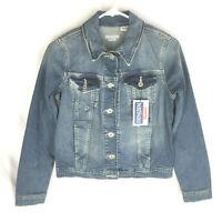 Denizen from Levis Women's NWT Original Trucker Vintage Denim Jacket Size Small