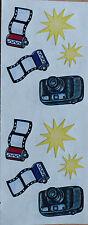 "Creative Memories Sticker ""Kamera / Film"" 1 Bogen NEU/RAR"