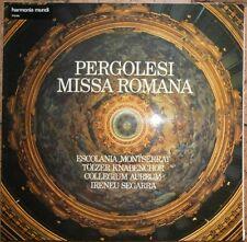 pergolesi missa romana (1710-1736 ) Vinyle escolania montserrat , tölzer knabenc