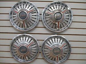 1965 CHEVROLET CHEVELLE MALIBU SS Spinner Wheel Cover Hubcap OEM SET 65