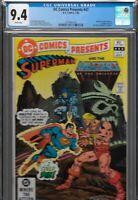 DC Comics Presents 47 CGC 9.4 1st He-Man Skeletor Masters Universe MOTU 1982