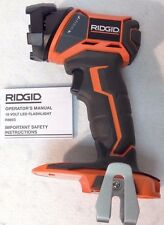 New Ridgid GEN5X 18 Volt High Intensity LED Flashlight Worklight Model # R8693
