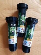 2 Rain Bird 17 ft. to 24 ft Adjustable Pattern Rotary Sprinkler 45°-270° Free S.